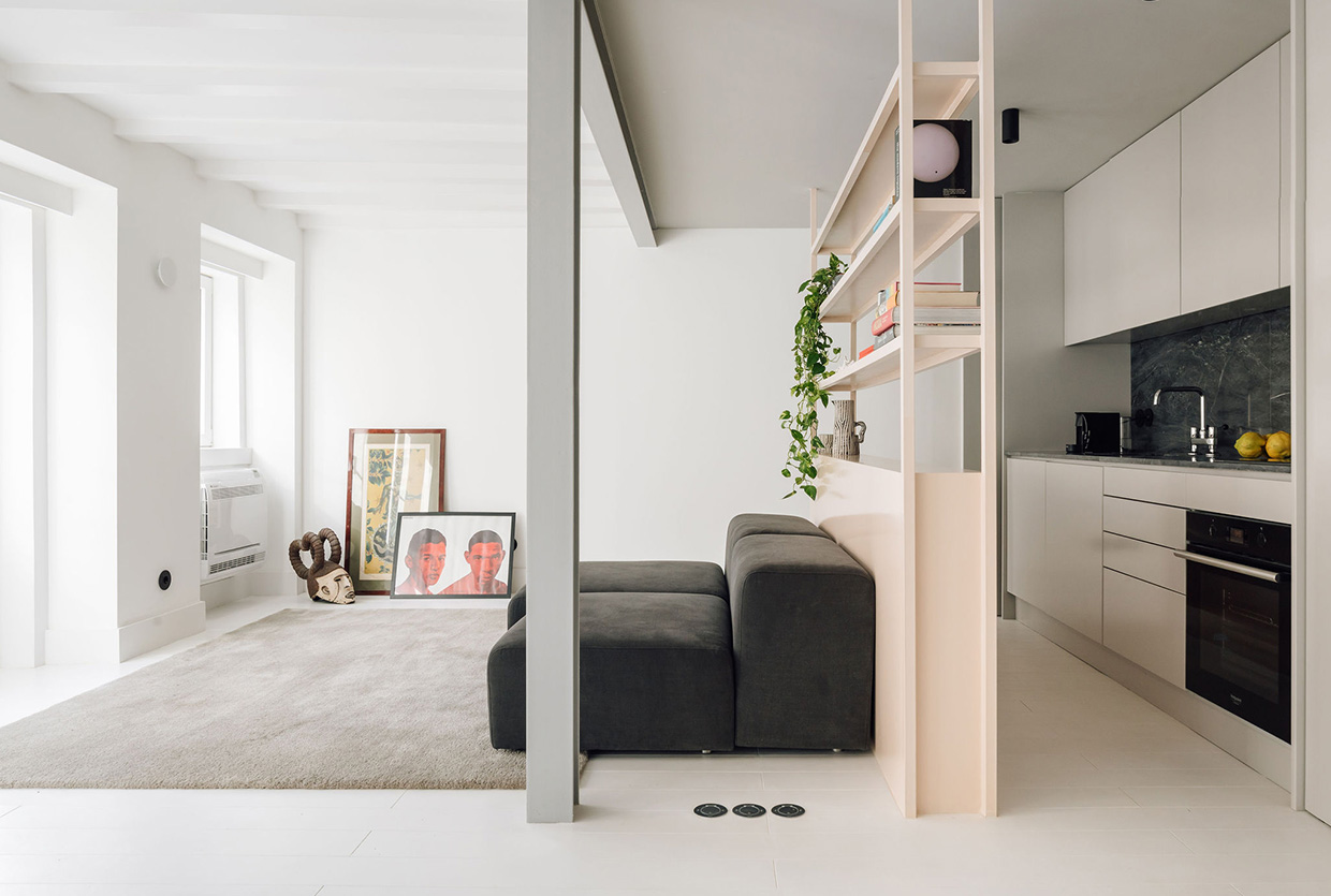 RGM 46 Apartment in Lisbon, Portugal by DC.AD Studio
