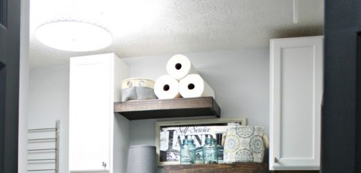 Let's build some shelves! {In an hour! With scrap wood!} from Thrifty Decor Chick